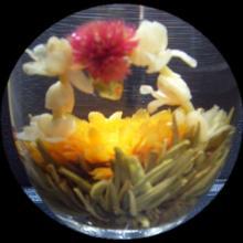 Twin Dragon Play Pearl Blooming Tea