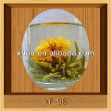 blooming flower tea