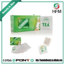 Natural green tea bag effect loss weight product detox slim tea