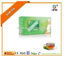 Natural green tea effect loss weight product wholesale detox slim tea