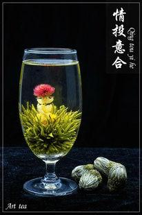 Organic Flowering Tea,A Perfect Match
