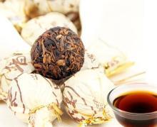 Royal Puer,Yunnan Mini Ripe Puer Tea,Hand-made Puer Tuocha