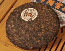 Organic royal grade puer cake famouse brand tea, 357g fermented puer cake health tea, China yunnan p