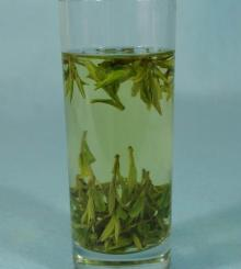 World famous green tea dragon well Xihu longjing