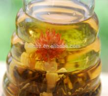 Pu erh scented flower tea