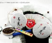 Fine China healthy green slimming puer tea