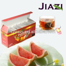 Puer Grapefruit tea bag chinese health tea