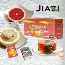 Puer Grapefruit natural detox teas