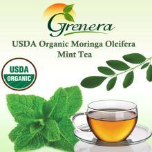 USDA Organic Moringa oleifera Mint Tea