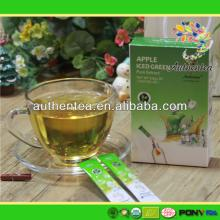 Refine Chinese Instant Soluble Apple Green Ice Tea Powder