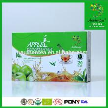 Green Apple Tea with Fashion Label