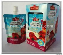 Squeezable Berries Puree Pouch