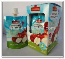 Squeezable Apple Puree Pouch
