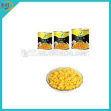 Thailand canned sweet corn with easy open lid 340g