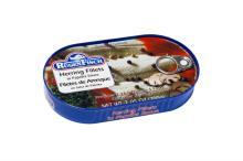 RUEGEN canned Herring Filets