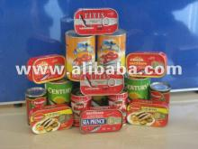 Sardines in Vegetable Oil 125gr