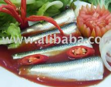 Canned Sardine In Vegetable Oil, Tomato Sauce, Chili Sauce