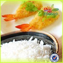 Chinese dried panko bread crumbs white