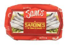 Sam's Sardines in Tomato Sauce