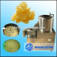 multifunctional small automatic potato washing peeling cutting machine/chips machine