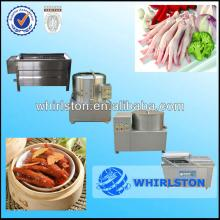 automatic chicken feet processing machine 8613673609924