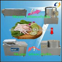26 Automatic Chicken feet skin cleaner for  cleaning  chicken feet machine