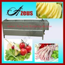 Automatic Stainless Steel Potato Chips, Chicken Feet Chicken Paw Blanching Machine 0086 15036019330