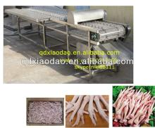 High efficiency automatic chicken feet cutting machine,chicken process line0086-18561675957