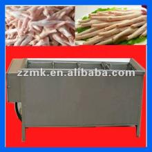 hot selling chicken feet paws bleaching  iron ing  machine