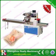 Horzontal chocolate candy bar wrapping machine/flow packaging machine