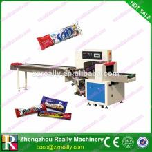 High quality promotional chocolate bar wrapping machine