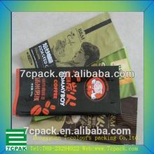 Gravure Printing tea packing bag & Flexible Laminated Fin seal tea bag & Custom Metalized material c