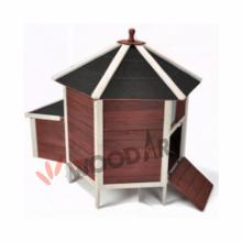Outdoor large easy-cleaning wooden chicken coop