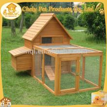 Easy-cleaning Wooden Chicken Coop Galvanized Wire Mesh