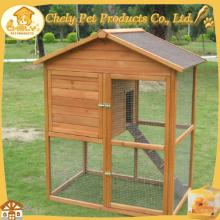 Easy-cleaning  wooden   chicken  coop equipment with large run
