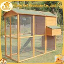 Poultry Waterproof Wooden Chicken Coop With Wire Mesh