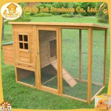 Outdoor Wooden Chicken Coop With Large Run