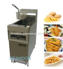 Brandon electrical fryer with oil filter and Hi limit safety device: manual reset