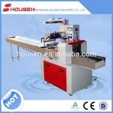Automatic chocolate bar flow wrapping machine for sale