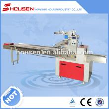Automatic branded high quality chocolate bar flow packing machine for sale