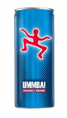 UMMBA! Energy Drink Blue