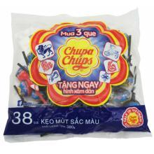 Chupa chups Lollipops Mixed Flavour 380g