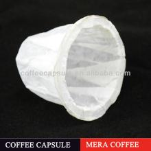 K- cup  empty soft capsule  paper   coffee   cup