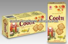 Cracker with Sesame and Coconut in gift box 21pcs/pack