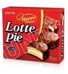 Bibica Lotte Pie Cake Box 30Gx12Pcs