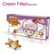 LANTOS BRAND 180g strawberry cream filled biscuit/cookie