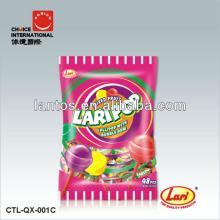 LARI BRAND 18g gum filled lollipop
