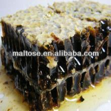 pure bee honey with comb for healthy and beauty
