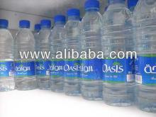 Oasis bottled water