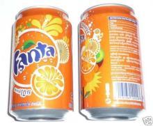 Fanta .......  Soft   Drink  330ml Can (24 Per Case)